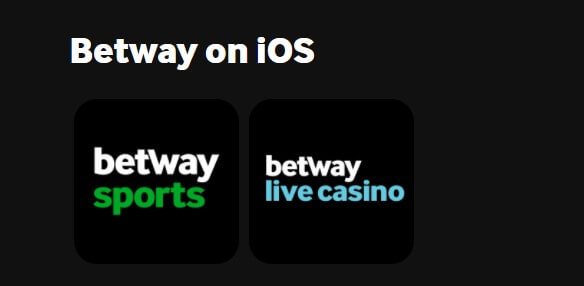 Betway app for iOs